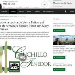 Descubre la cocina de Venta Baños y el aceite de Almazara Ramón Pérez con Mary Luz Piñeiro